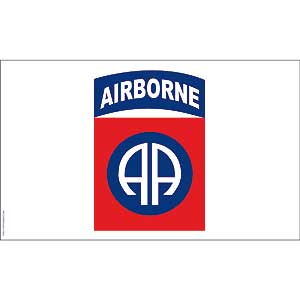 82nd Airborne 3x5' Polyester Flag
