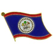 Belize Lapel Pin.
