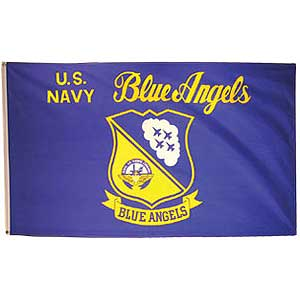 Blue Angels 3x5' Polyester Flag