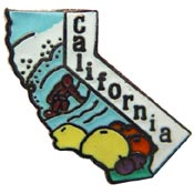 California State Decorative Lapel Pin.