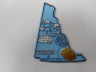 Yukon Territories Magnet/Canada
