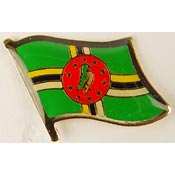 Dominica Lapel Pin.
