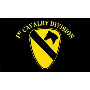 1st Calvary Division 3x5' Polyester Flag