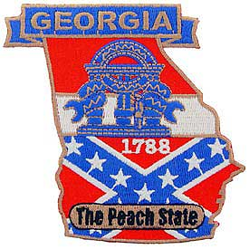 Georgia Decorative State Patch