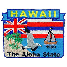 Hawaii Decorative State Patch