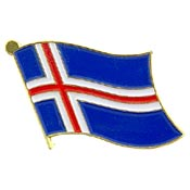 Iceland Lapel Pin.