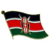 Kenya Lapel Pin.