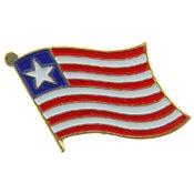 Liberia Lapel Pin.