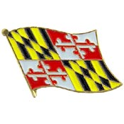 Maryland State Flag Lapel Pin.
