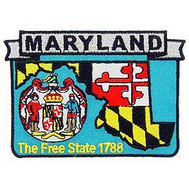 Maryland Decorative State Patch