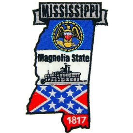 Mississippi Decorative State Patch