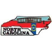 North Carolina State Decorative Lapel Pin.