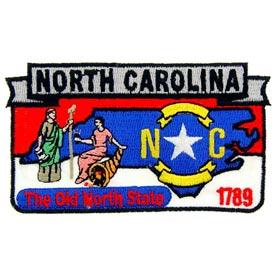 North Carolina Decorative State Patch