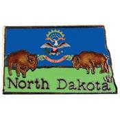 North Dakota State Decorative Lapel Pin.