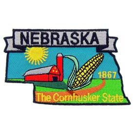 Nebraska Decorative State Patch