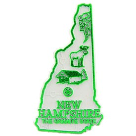 New Hampshire State Magnet.