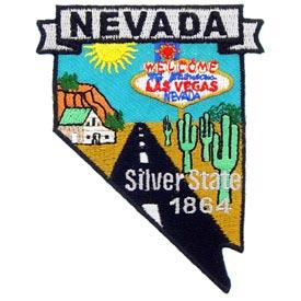 Nevada Decorative State Patch