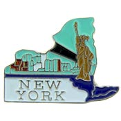 New York State Decorative Lapel Pin.
