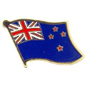 New Zealand Lapel Pin.