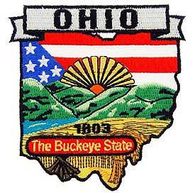 Ohio Decorative State Patch