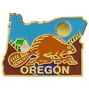 Oregon State Decorative Lapel Pin.