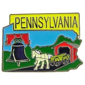 Pennsylvania State Decorative Lapel Pin.