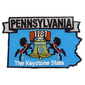 Pennsylvania Decorative State Patch