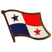 Panama Lapel Pin.