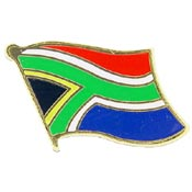 South Africa Lapel Pin.