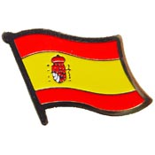 Spain Lapel Pin.