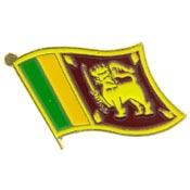 Sri Lanka Lapel Pin.