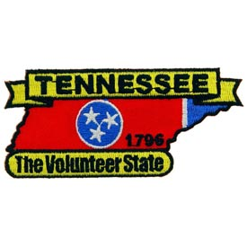 Tennessee Decorative State Patch