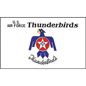 Thunderbirds 3x5' Polyester Flag