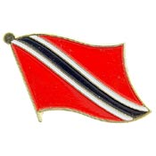 Trinidad & Tobago Lapel Pin.