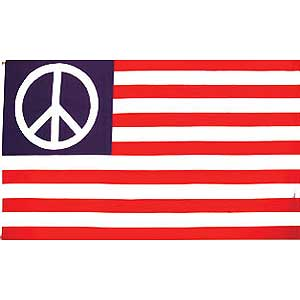 USA Peace 3x5' Polyester Flag