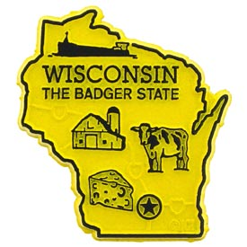 Wisconsin State Magnet.